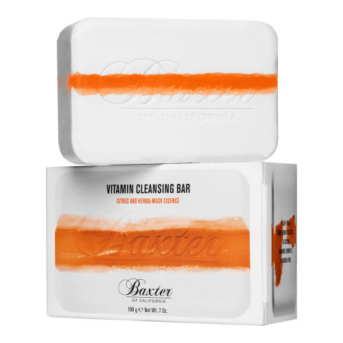 Baxter of California Vitamin Cleansing Bar Citrus and Herbal-Musk 198g