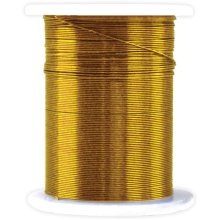 Metallic Beading & Jewelry Wire 28 Gauge 32'-Gold