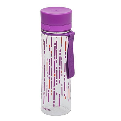 Aladdin Aveo Water Bottle - 0.6 L, Berry Print
