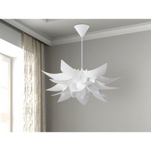 Modern Ceiling Lamp Pendant - White - Chandelier - ALVA