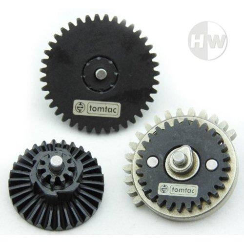 Airsoft High Torque 18:1 Gear Set M4 Ak47 V2 V3 High Density Steel Gearbox Cogs