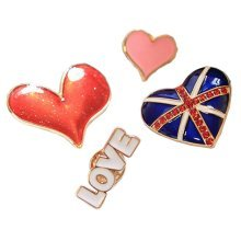 [Heart] A Set of Ladies Brooches Corsages Collar Decorative Brooch Pins