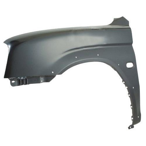 Mitsubishi L200 Pick Up 2000-2006 Front Wing With Side Moulding Holes Passenger Side L