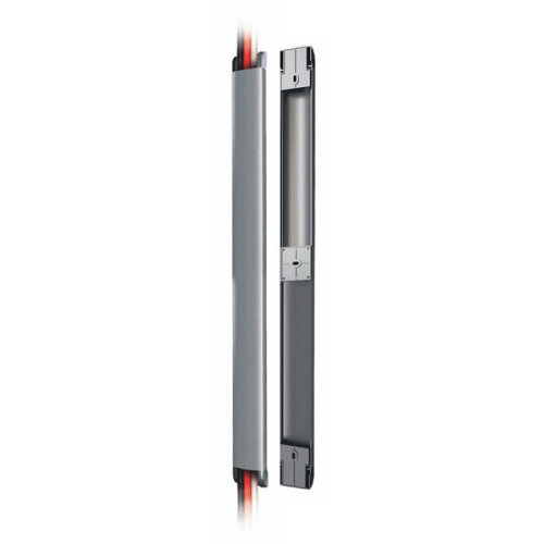 Newstar Cable Cover (Length: 50 cm, Width: 4.6 cm, Depth: 1.8 cm) - Silver