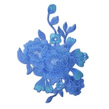 DIY Sew on Patches Peony Applique Patches Cloth Appliques Embroidery Applique