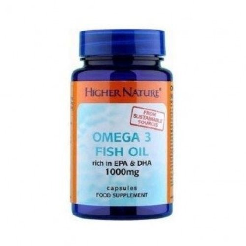 Higher Nature - Fish Oil Omega 3 1000mg 30 capsule