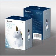Sentik Colour Changing Unicorn Night Light - White Edition
