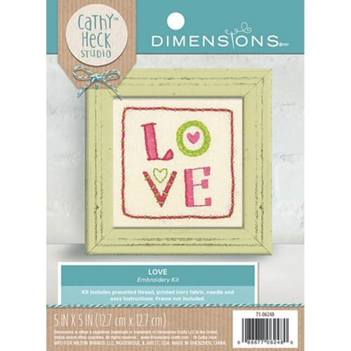 * Dimensions Embroidery - Love