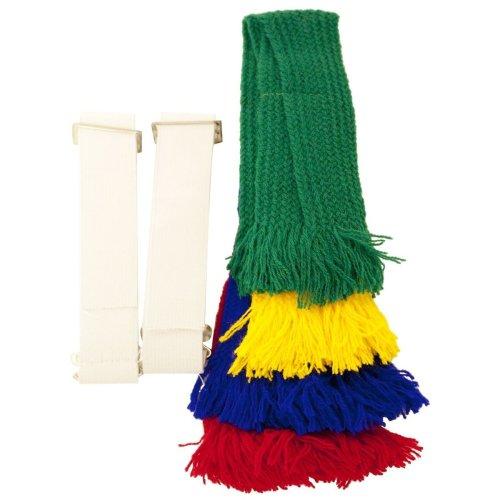 Bisley shooting Garters Bright colours set of 4 garters with adjustable elastic