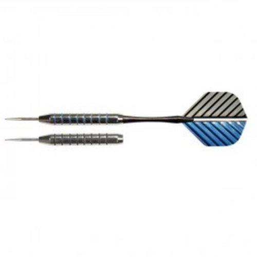 Nodor STA300 Striped Metallic Darts in Case