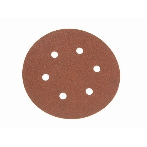 Faithfull FAIAD15060H Hook & Loop Sanding Disc DID2 Holed 150mm x 60g (Pack of 25)