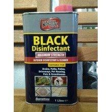 Knockout Black Disinfectant - Greenhouses, pet houses, Paths, Drains etc