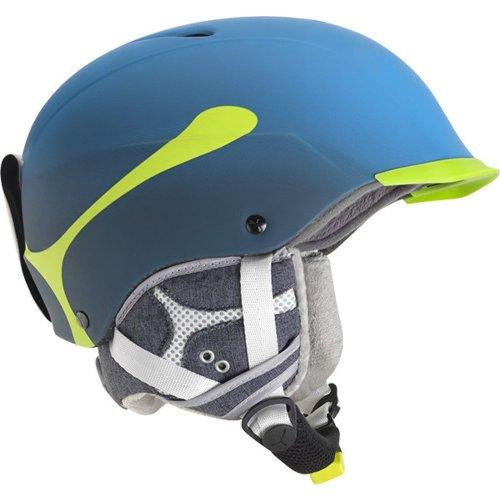 Cebe Contest Visor Pro Ski Helmet (Cyan Size 62-64cm)