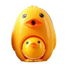 Lovely Creative Cartoon Pencil Sharpener, Mother And Baby Chicken
