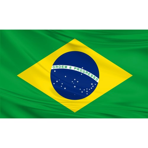 Brazil Flag 5ft x 3ft Polyester Fabric Country National