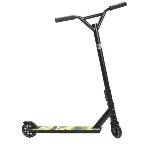 Land Surfer Stunt Scooter - Camouflage Green