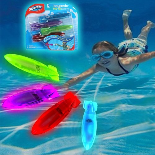 "Swimways Toypedo ""Lite Up"" Bandits 