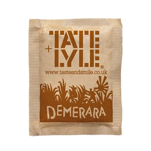 Tate & Lyle Demerara Sugar Sachets (pack of 1000)