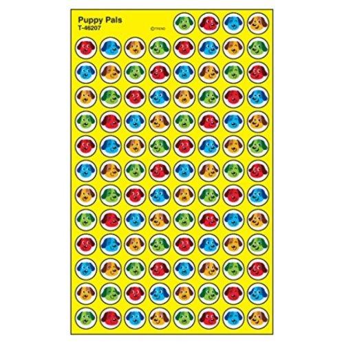 Trend Enterprises Puppy Pals Super Spots Stickers (800 Piece)
