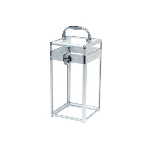 TZ Case JB-43 CLR Acrylic Beauty & Spa Case, Clear - 11.25 x 5.75 x 5.75 in.