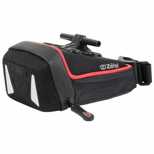 Zefal Iron Pack T-Fix Saddle Bag - Black, Medium