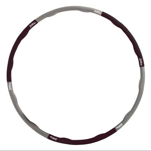 Just be... Fitness Hula Hoop - Black 2.10kg