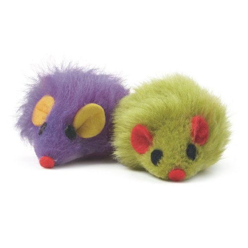 Acticat Furry Mice Cat Toys Assorted (Pack of 24)