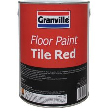 Tile Red Floor Paint - 5 litre