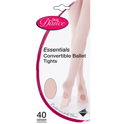 Silky Childrens Girls Dance Essential Convertible Tights (1 Pair)