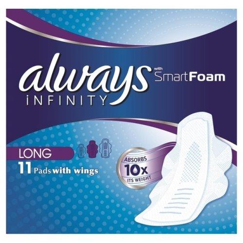 Always Infinity Long 11 pads