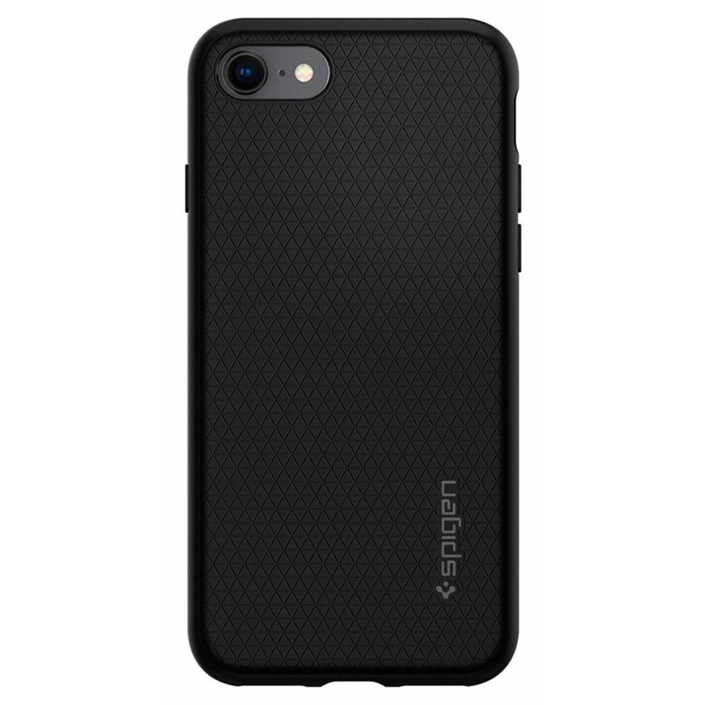best service af931 8fb1a iPhone 8 Case/iPhone 7 Case Spigen [Liquid Air Armor] SOFT-FLEX [Black]  Premium Flexible Soft TPU Case for iPhone 7 (2016)/iPhone 8 (2017) -  Black...