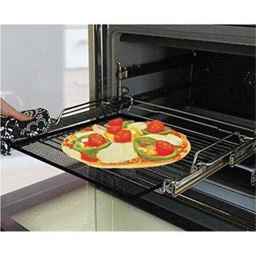 Cooks Innovations TC1414X1 Oven Crisper & Grill Sheet, Black