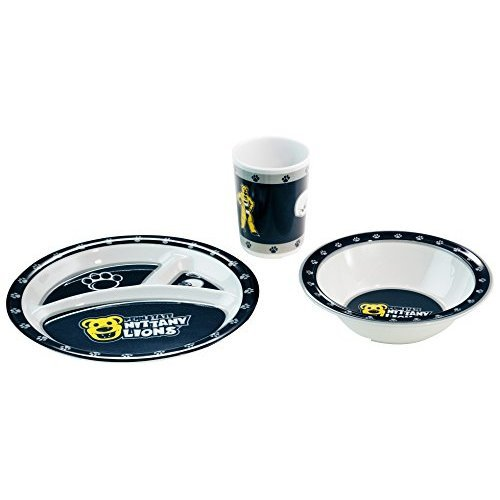 NCAA Penn State Nittany Lions Kids 3-Piece Dish Set