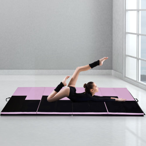 10FT Foldable Gymnastics Tumble Mat Floor Exercise
