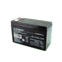 12V 7AH Home Alarm System Back Up Ultramax NP7-12 Battery Replaces 6Ah 8Ah 9Ah