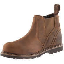 Buckler B1555SM Safety Dealer Work Boots Waxed Brown (Sizes 6-13) Mens Steel Toe