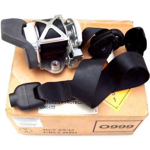 Fiat Genuine New Safety Black Seat Belt 735523074