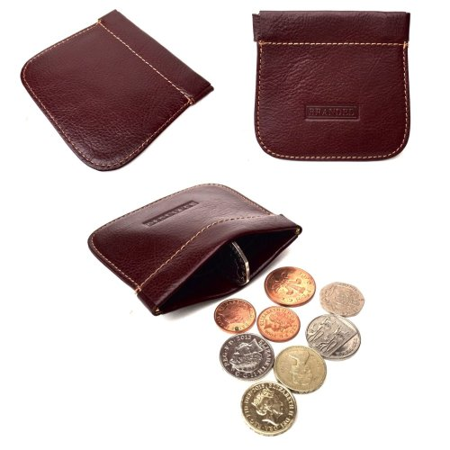 Golunski Mens Leather Snap Top Coin Purse