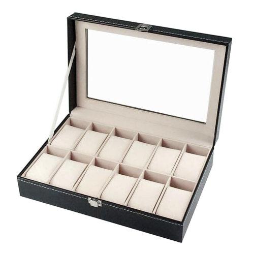 Watch Storage Box Bracelet Display Case Watch Box for Men-A5