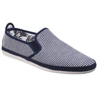 Flossy Mens Brieva Slip On Espadrille Shoe