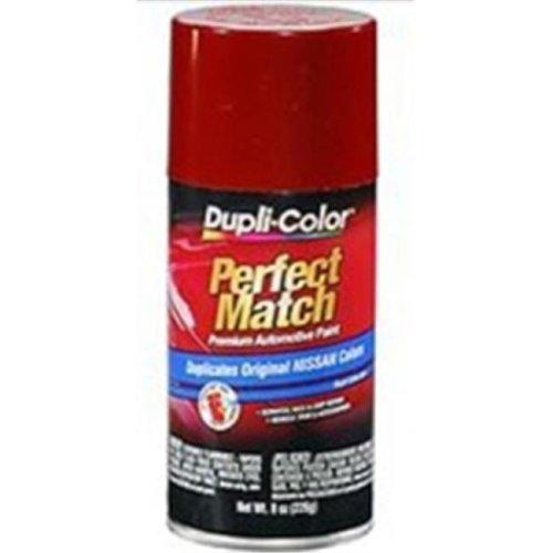 Krylon BNS0570 8 oz Nissan Exact-Match Automotive Paint, Cherry Red Pearl Metallic