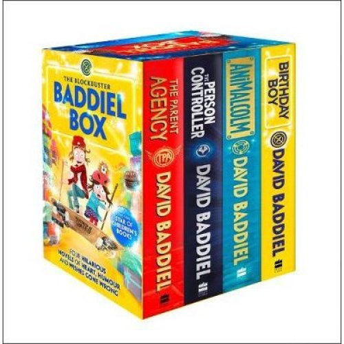 Blockbuster Baddiel Box (The Person Controller, The Parent Agency, AniMalcolm, Birthday Boy), The