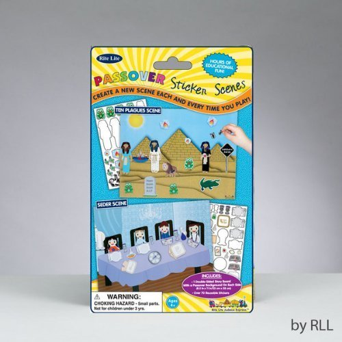 Passover Sticker Scene with Reusable Stickers by Rite Lite