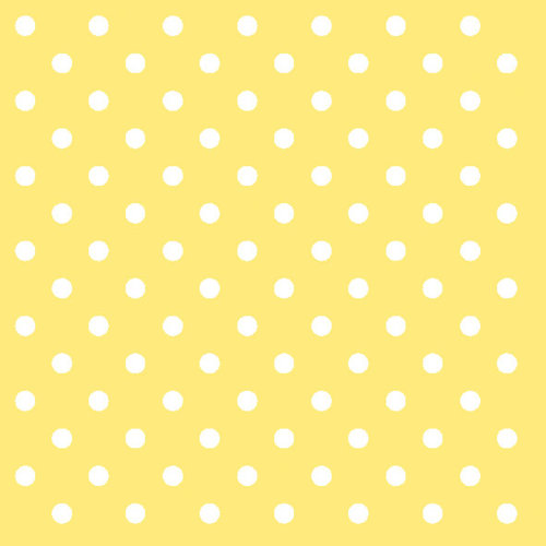 Ambiente 3 Ply Paper Lunch Napkins, Dots Yellow