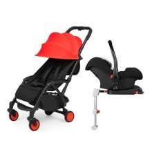 Ickle Bubba Aurora Travel System & Isofix Base - Red Sky at Night