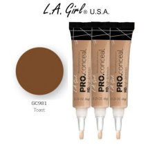 L.A. Girl Pro Conceal HD 981 Toast (6 Pack)