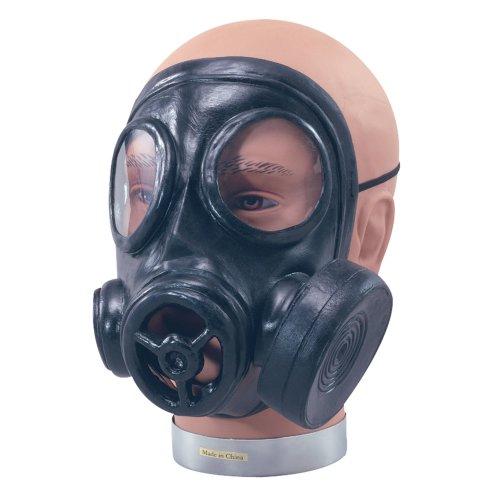 Gas Mask - Accessory -  mask gas rubber fancy dress accessory war world FANCY DRESS GAS MASK REALISTIC ACCESSORY 1940S WWII SOLDIER WAR