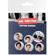 One Direction Band Badge Pack