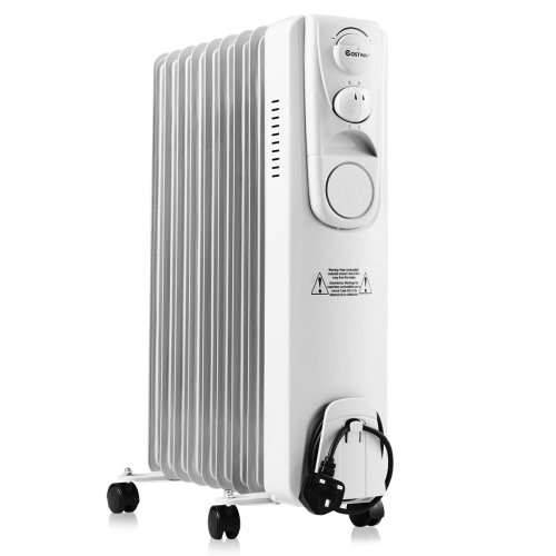 Oil Filled Radiator Portable 2000W 9 Fin