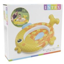 Intex Friendly Goldfish Baby Pool Inflatable Paddling Pool Water Garden
